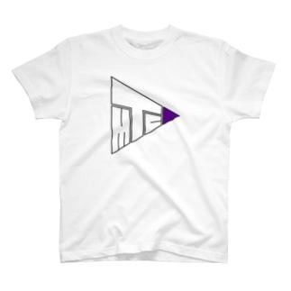 TMC紫の方 T-shirts