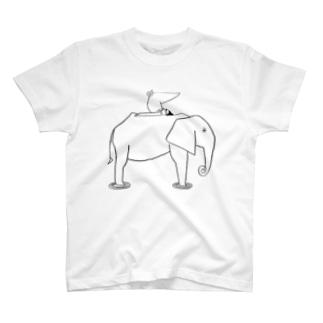 象とひと T-shirts