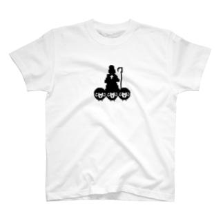 好牧羊人(黑) T-shirts