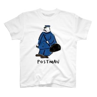 POSTMAN Tシャツ T-shirts