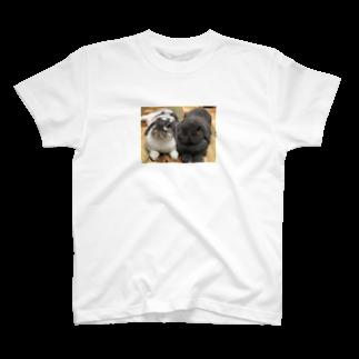 うさかふぇmimiSHOPのサスケとゴマ T-shirts