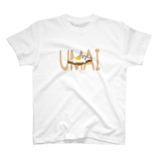 UMAIたまごトースト T-shirts