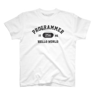 プログラマー(グレー) T-shirts