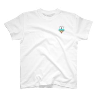 富士マンワンポイントTシャツ T-shirts