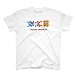 結晶構造(金属) T-shirts