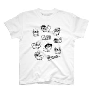 おしゃれペキニーズ T-shirts