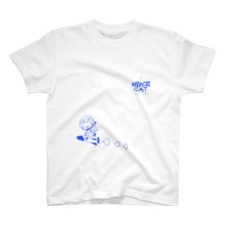 SPACE CAT Tシャツ