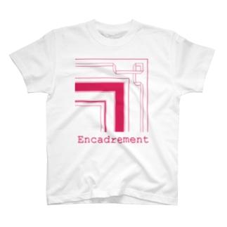 EncadrementRose T-shirts