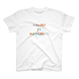 福人ずけのNAGANO  vs MATSUMOTO Tシャツ
