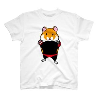くろはらはむすたー T-shirts