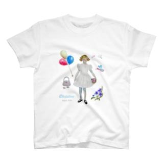 paperdolls クリスティーヌ T-shirts