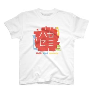 ハロセミロゴステッカー Tシャツ