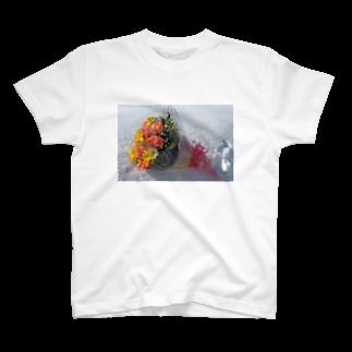 古川 曻一の花束 For You T-shirts