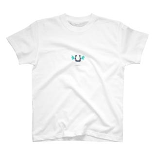 幸運を運ぶ馬蹄 T-shirts