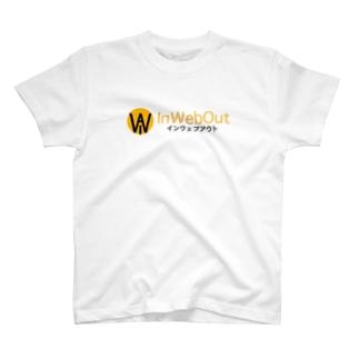 インウェブアウトロゴ T-shirts