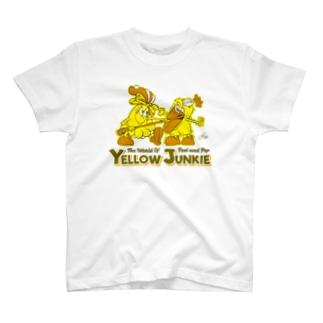 YELLOW JUNKIE キイコとキイタ T-shirts