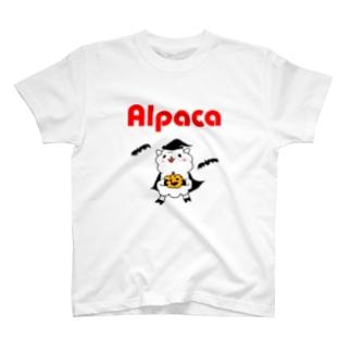 ぷりてぃアルパカ T-shirts