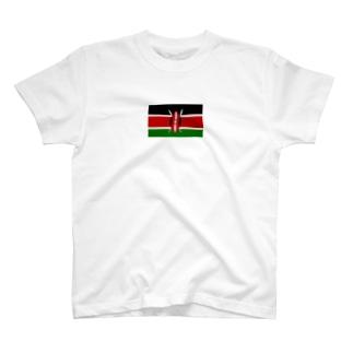 ケニア 国旗 T-shirts