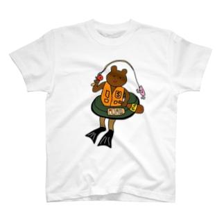 フローターフィッシング T-shirts