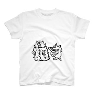 三匹の子豚 T-shirts