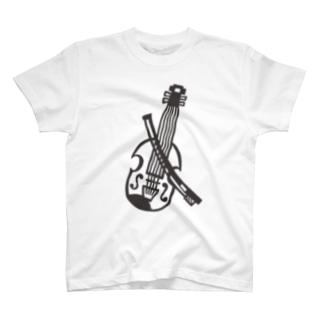 バイオリン T-shirts