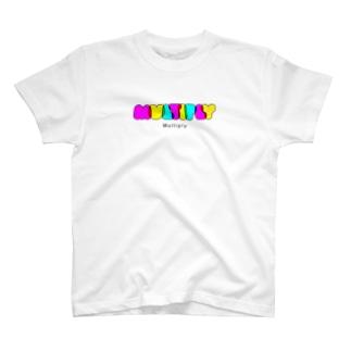 乗算 Tシャツ