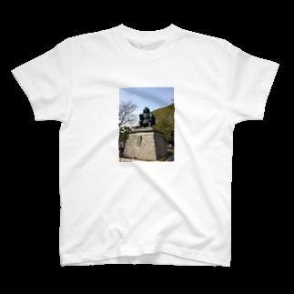 sakusakuの武田信玄像 T-shirts