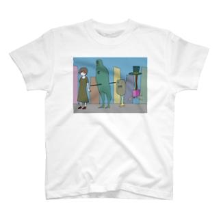信者の猛進 T-shirts