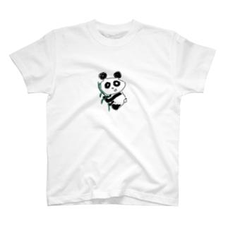 ささパンダ T-shirts