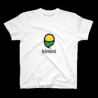 Kiminiオンライン英会話 オフィシャルストアのKimini Quote with Logo T-shirts