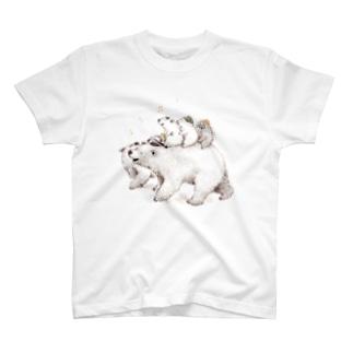 ずんぐり〜ずの旅 -出発- T-shirts