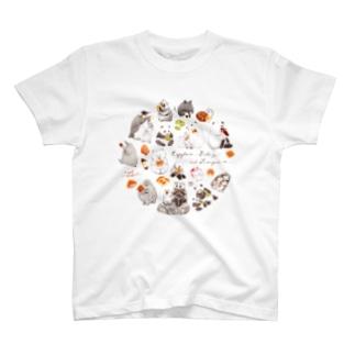 カピバラべぇかりぃとずんぐり〜ず T-shirts
