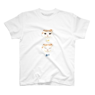 ON OFF CAT T-shirts