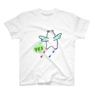 """かぴ天使 """"YES"""" T-shirts"""