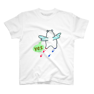 """かぴ門のかぴ天使 """"YES"""" T-shirts"""