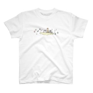 キラふわ文鳥 T-shirts