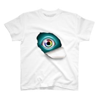 覗き込む瞳(水) T-shirts