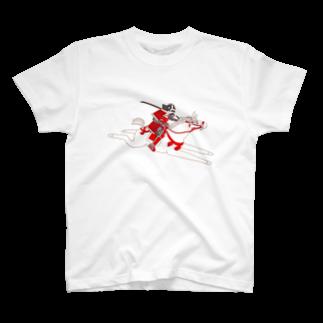 SINOBIの騎馬武者 T-shirts