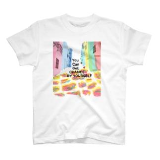 この路地の先に T-shirts