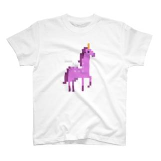 ドット絵ペガサス T-shirts