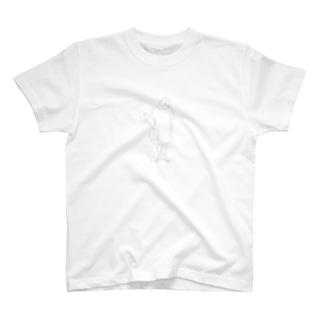 買い物帰り T-shirts