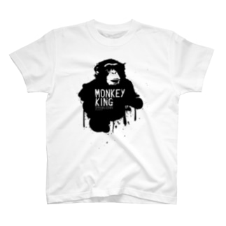 MONKEY KING_BLACK T-shirts