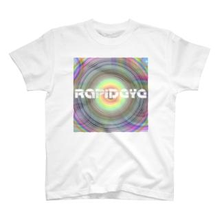RapidEye psychedelico -サイケデリコ- ノクターンホワイト T-shirts
