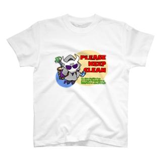 環境美化悪魔 T-shirts
