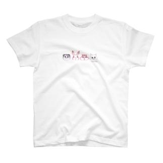 4匹のお友達 T-shirts