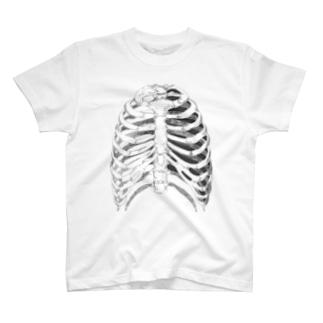 骨 T-shirts