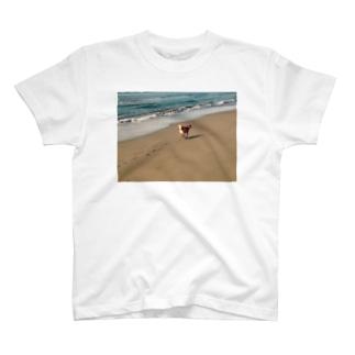 海、駆ける T-shirts