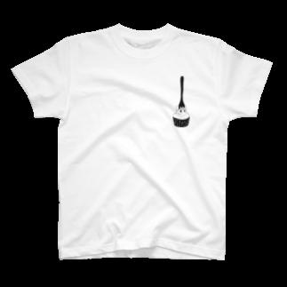 たぬきケーキめぐりのたぬきケーキめぐり T-shirts