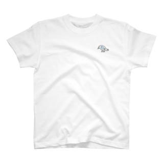 鳥と魚のねこぜちゃん T-shirts