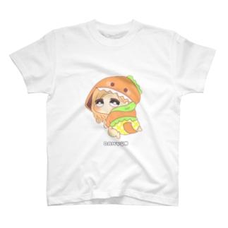 ダヒョン 着ぐるみ赤ちゃんキャラ T-shirts